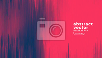 Plakat abstract duotone lines background design
