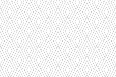 Plakat Abstract geometric pattern. A seamless vector background. White and gray ornament. Graphic modern pattern. Simple lattice graphic design.
