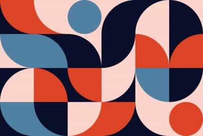 Plakat Abstract Geometry Pattern Artwork