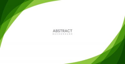 Plakat abstract green background design. modern green background template
