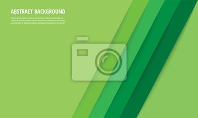 Plakat abstract modern green lines background vector illustration EPS10
