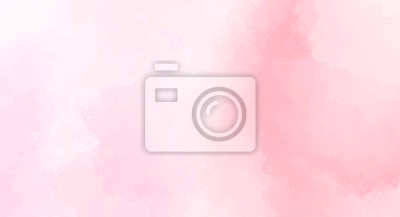 Plakat Abstract pink watercolor background for your design, watercolor background concept, vector.