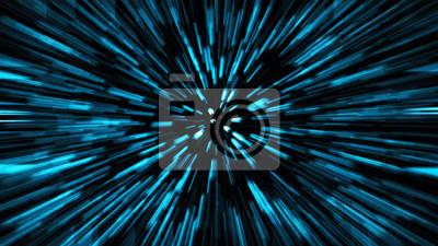 Plakat Abstrakcjonistycznej nauki fikci kosmos i czasu podróży pojęcia tło
