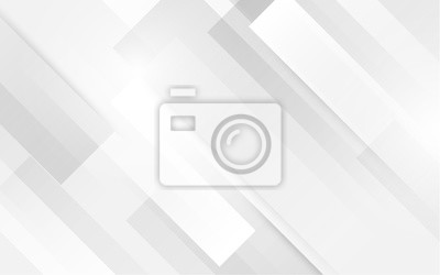 Plakat Abstrakcjonistyczny biały kwadratowy kształt z futurystycznym pojęcia tłem