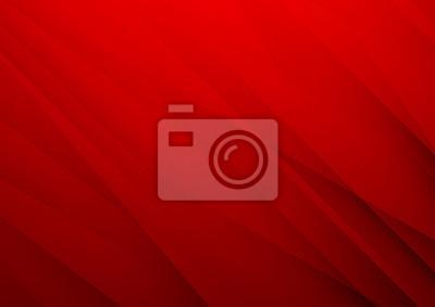 Plakat Abstrakcjonistyczny czerwony wektorowy tło z lampasami