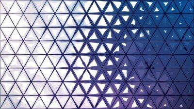 Abstrakcyjne tło z trójkątów atramentowych