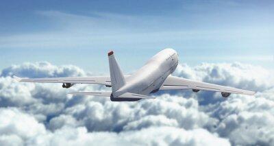 Plakat Aeroplano Wola nuvole cielo