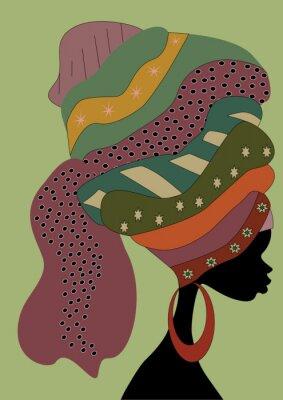 Plakat Afrykanki