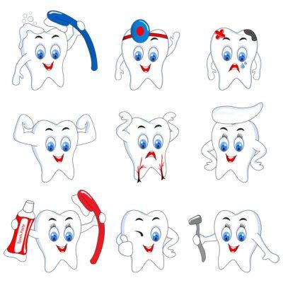 Plakat Aktywny Tooth
