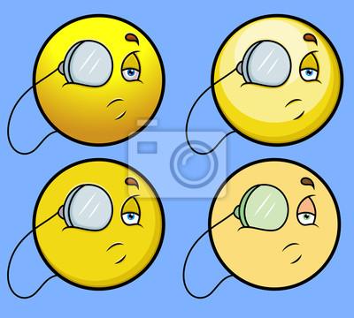 6271a43938 Plakat Alchemik Emotikon Smiley emotikon na wymiar • nowoczesny ...
