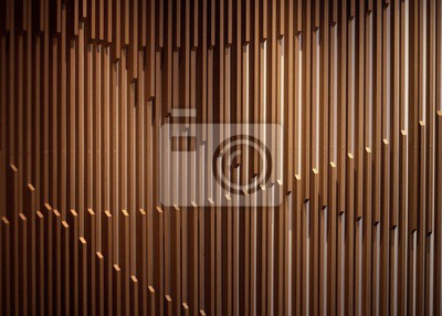 Plakat Amazing modern futuristic architecture design for a cool background or a wallpaper