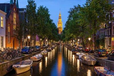 Plakat Amsterdam canals