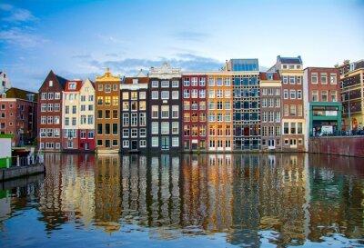 Plakat Amsterdam, Holandia