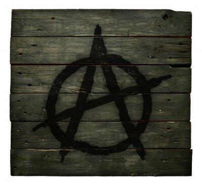 Plakat anarchia symbolem