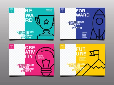 Plakat annual report ,future, business, template layout design, cover book. vector illustration , presentation abstract flat background