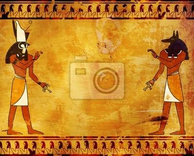 Anubis i Horus