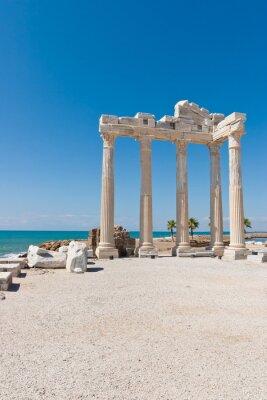 Plakat Apollon-Tempel w Side, Türkische Riwierze