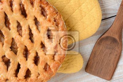 Plakat Apple Pie Closeup