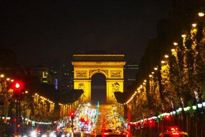 Plakat Arc de Triomphe de l'Etoile w Paryżu