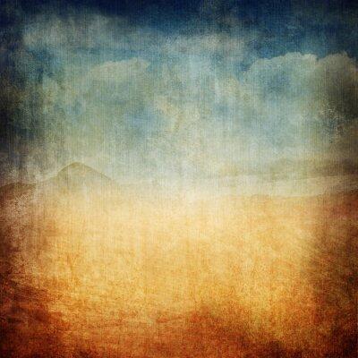 Plakat Archiwalne Krajobraz Canvas XXL