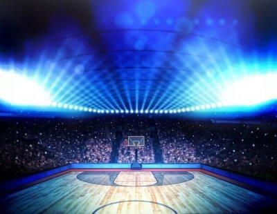 Plakat Arena koszykówki
