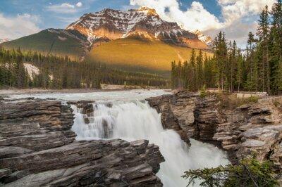 Plakat Athabasca Falls