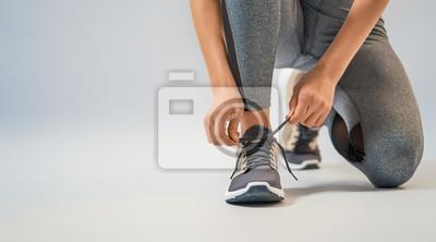 Plakat athletes foot close-up