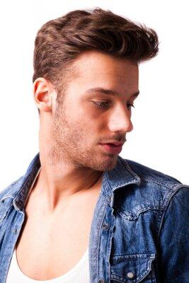 Plakat Attraktiver Junger Mann