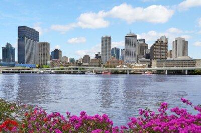 Plakat Australia Brisbane Skyline -Queensland