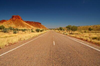 Plakat australijski outback