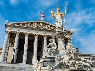 Plakat Austria, Wiedeń, Parlament