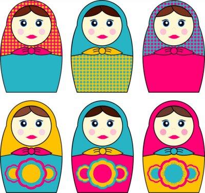 Plakat Babushka Dolls