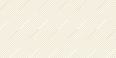 Plakat Background pattern seamless geometric line abstract gold luxury color vector.