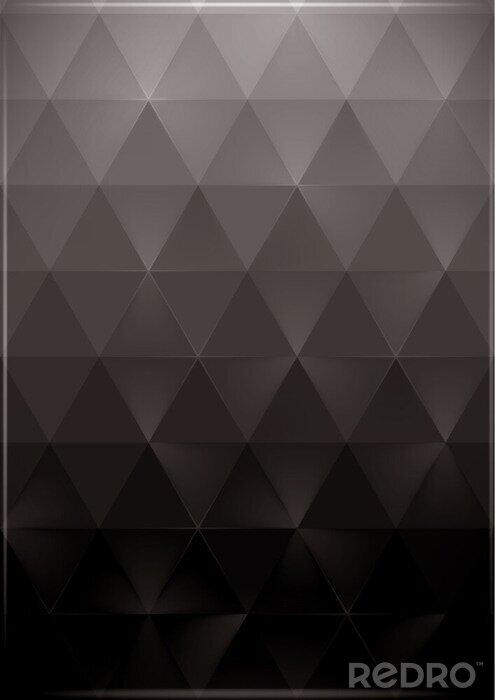 Plakat background trójkąty