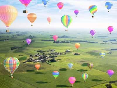 Plakat Balony