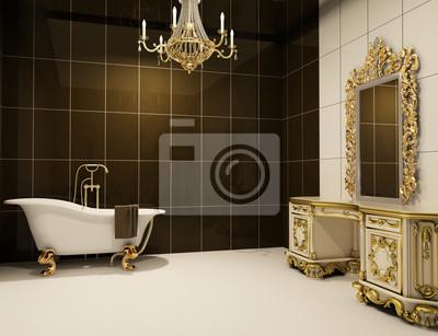 Barokowe Meble W łazience Plakaty Redro