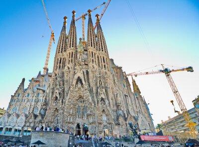 Plakat Bazylika de la Sagrada Familia, Barcelona
