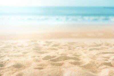 Plakat beautiful sand beach