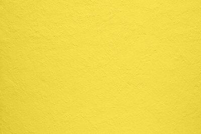 Plakat Beautiful yellow concrete background