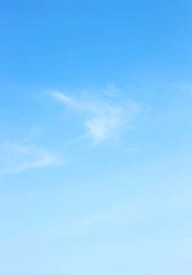 Plakat Beauty white cloud and clear blue sky in sunny day texture background