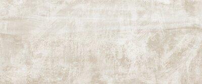 Plakat Beige cement backround. Wall texture