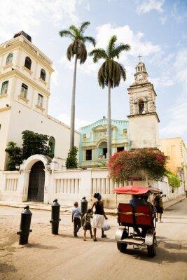 Plakat Belen Convent, Havana