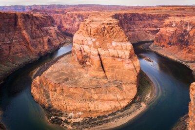 Plakat bend podkowy (Colorado river)