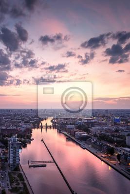 Plakat Berlin skyline