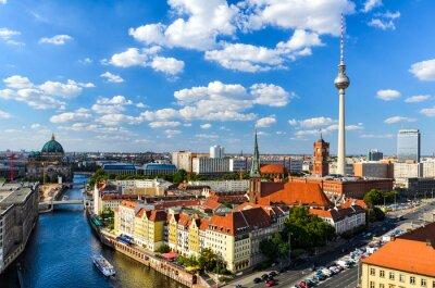 Plakat Berlin skyline panorama