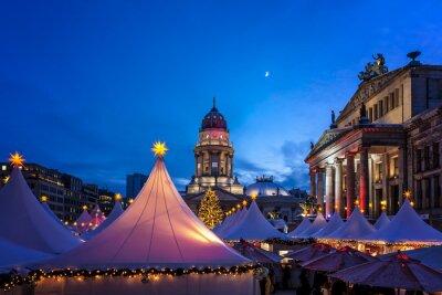 Plakat Berlin Weihnachtsmarkt