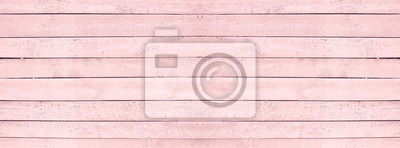 Plakat Bezszwowe tekstury drewna różowy