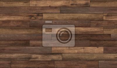 Plakat Bezszwowe tekstury podłogi drewnianej, faktura podłogi z drewna liściastego