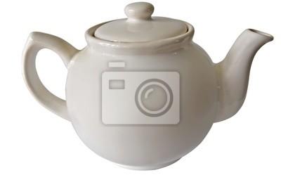 Plakat Biały czajniczek