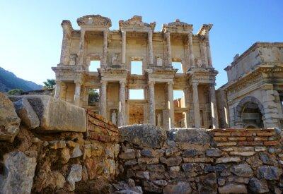 Plakat Bibliothek Efez